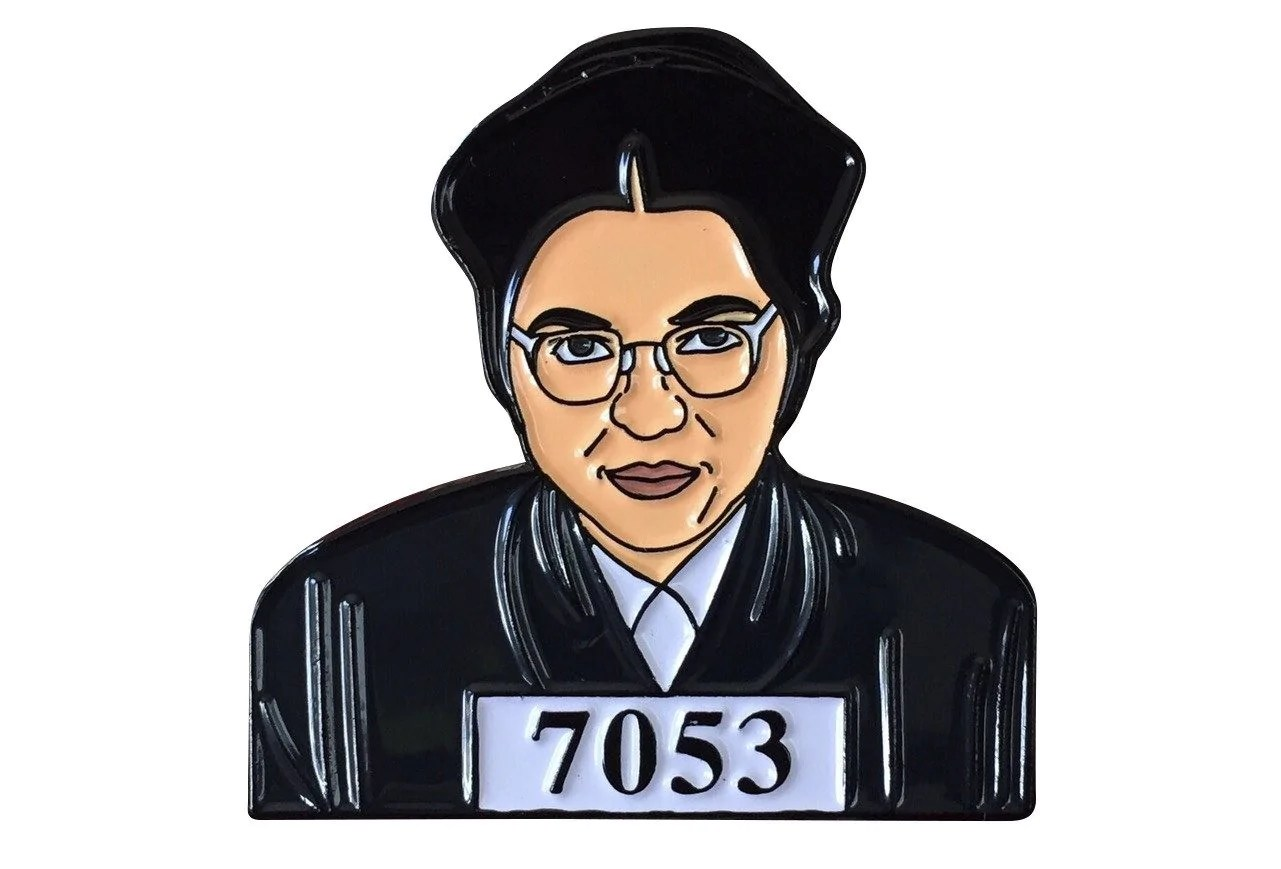 hight resolution of rosa parks lapel pin