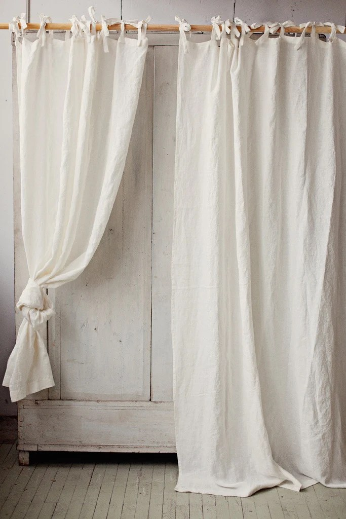 Care linen curtains for Linen curtains ikea