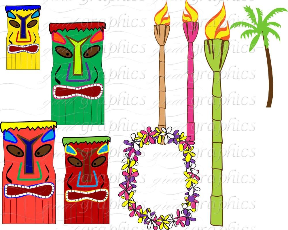 hawaiian luau digital paper luau party clip art hawaii luau clipart hawaiian party digital paper printable  [ 1000 x 800 Pixel ]