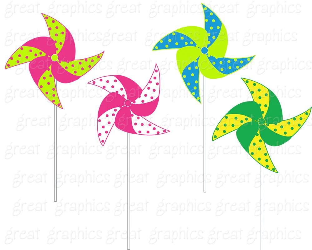 pinwheel clip art digital clipart printable party clipart birthday party clipart party clipart instant download  [ 1000 x 800 Pixel ]