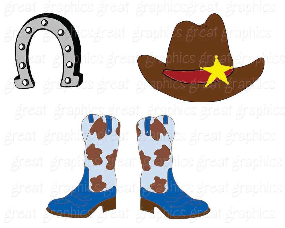small resolution of  cowboy clipart cowgirl clip art digital clip art pink cowgirl cowboy hat clipart cowboy boots instant