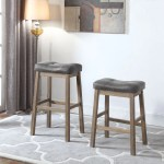 Coaster Dining Chairs And Bar Stools Rustic Backless Counter Height St