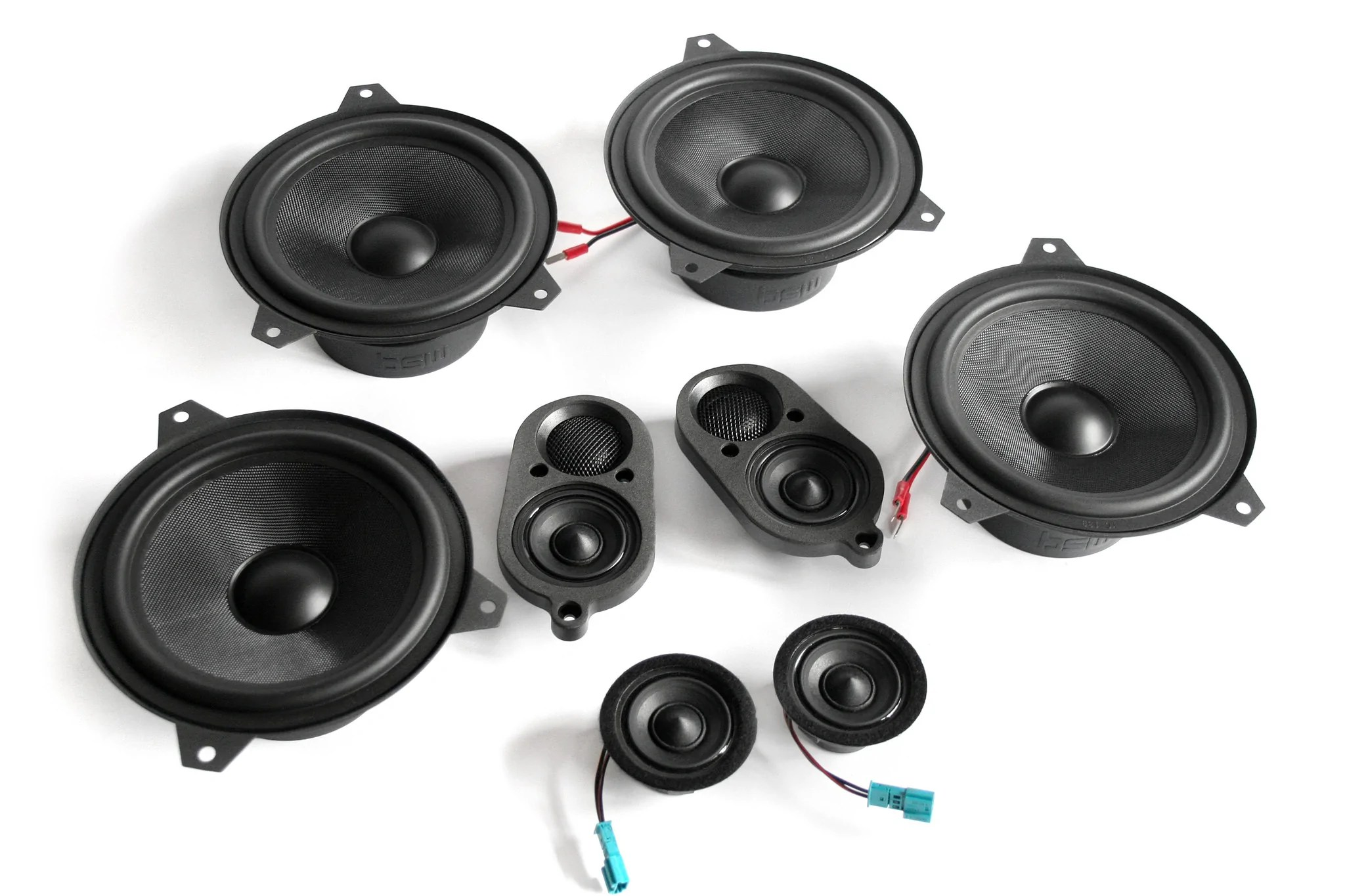 stage one bmw speaker upgrade for e46 coupe with standard hi fi [ 2048 x 1365 Pixel ]