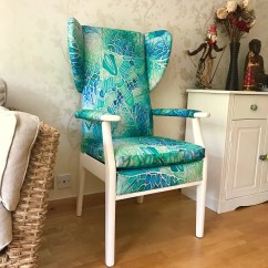 Mint Chair Sashes Ivory Accent Green Parker Knoll Update