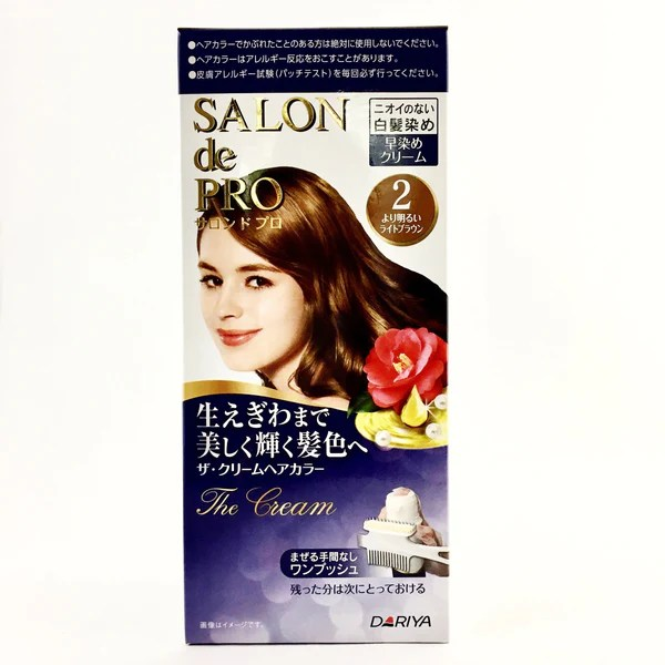 Dariya Japan Salon De Pro Hair Dye Non Smell Cream – BeautyKat