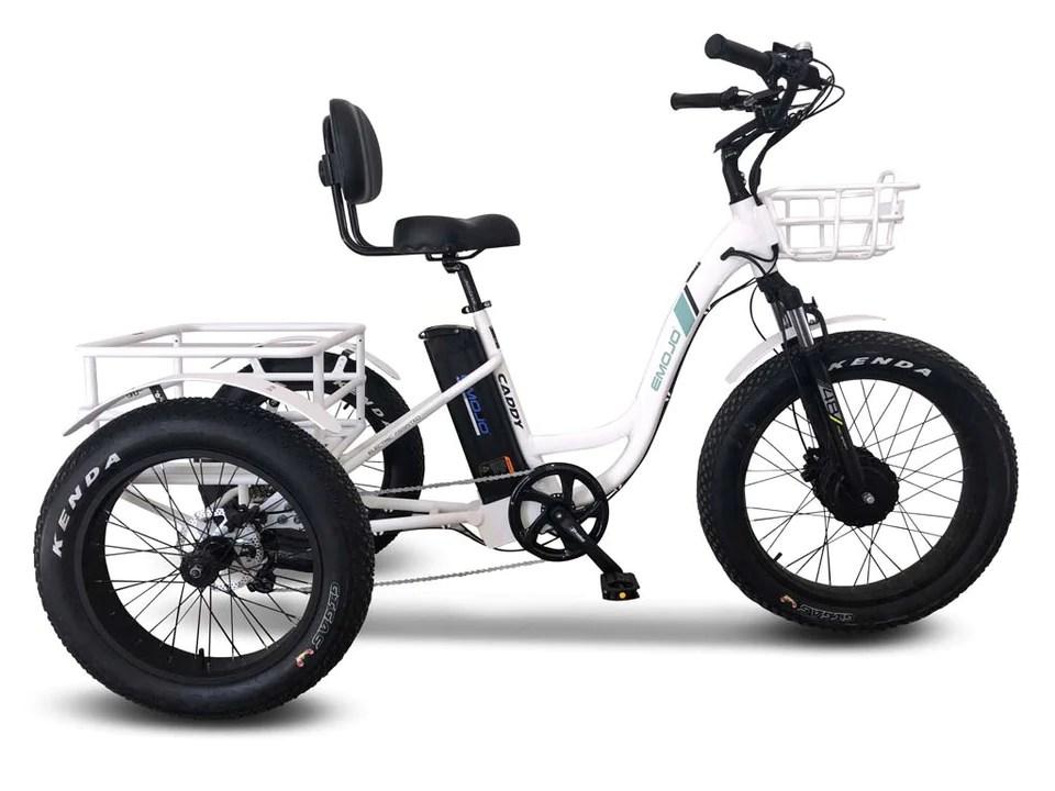 EMOJO Caddy PRO Trike - Electric Fat Tire Tricycle – Electric Bike Zone