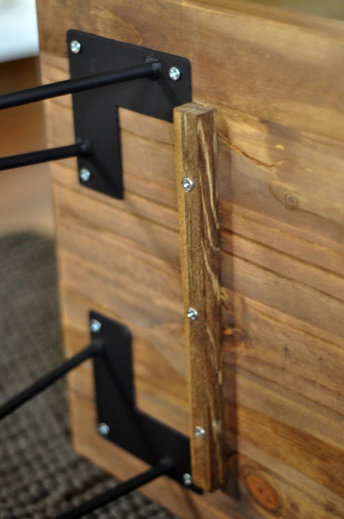 diy hairpin leg coffee table tutorial