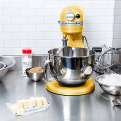 Kitchen Aid Pro 600 Installing Countertop Stand Mixer Yellow The Happy Cook