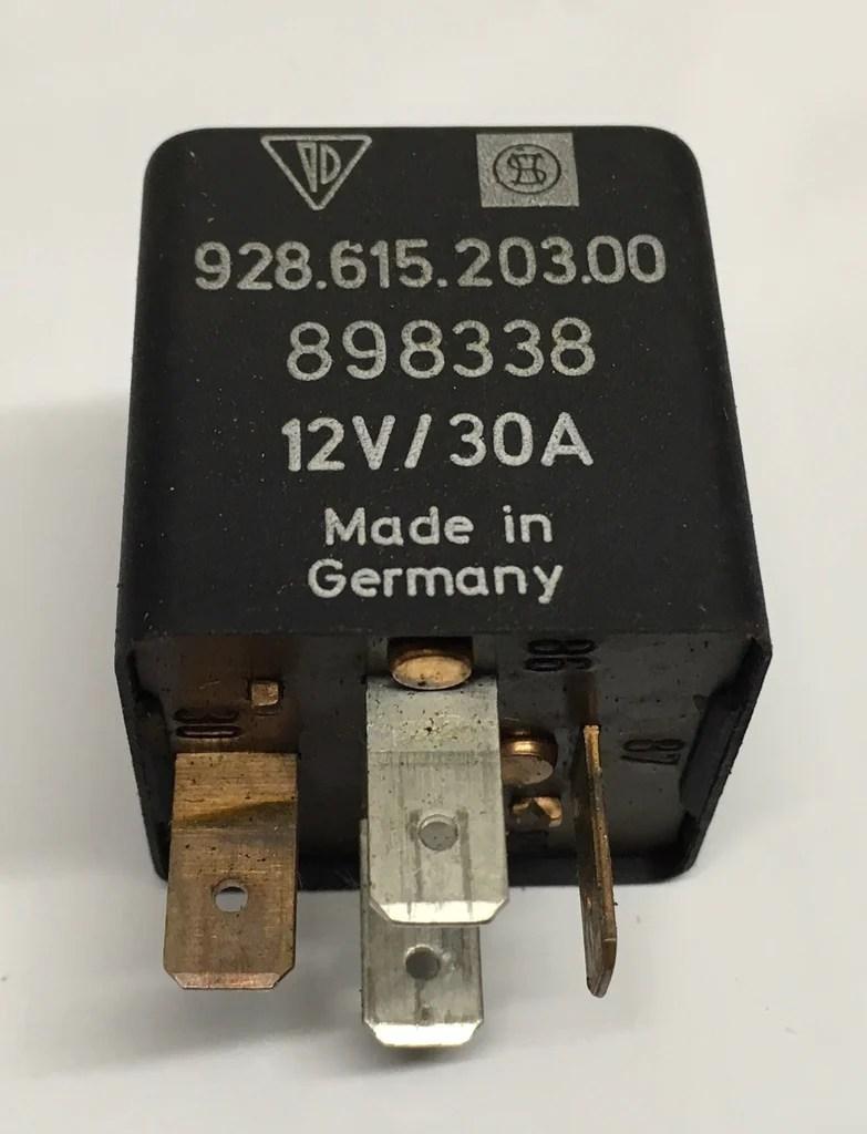 medium resolution of porsche 924 944 928 horn fuse tester relay 92861520300 ref