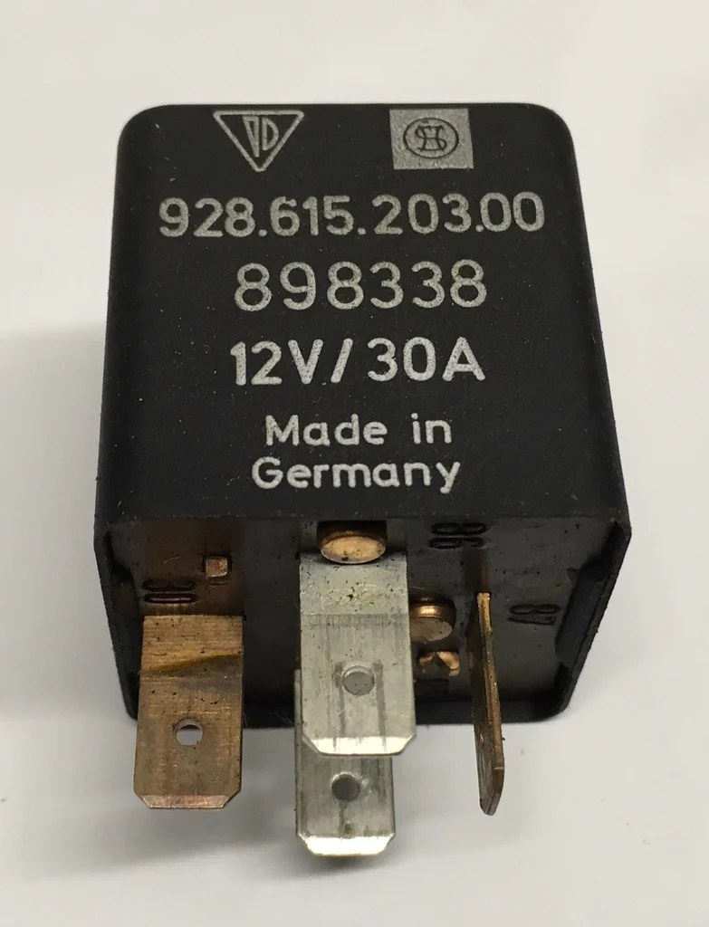 hight resolution of porsche 924 944 928 horn fuse tester relay 92861520300 ref