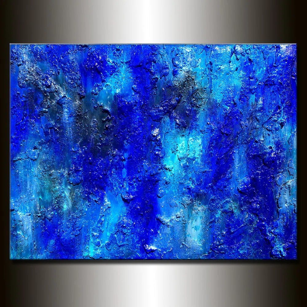 Textured Abstract Canvas Art Painting