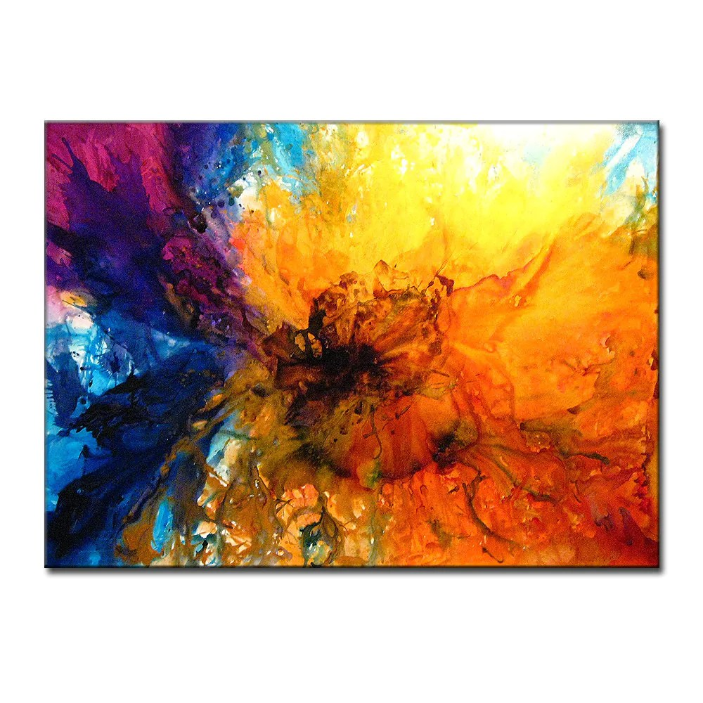 Abstract Art Huge Painting Original