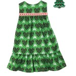 Outfit Christmas Tree Dress Paper Doll Blanket
