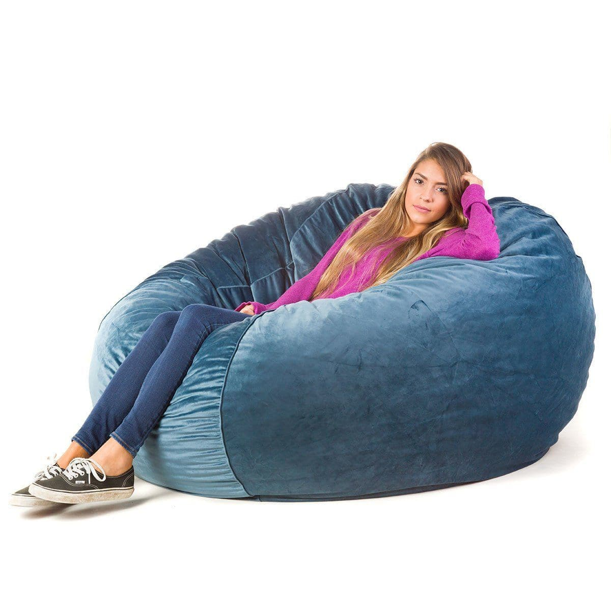 teal bean bag chair office for short person cordaroy s convertible bags there a bed inside posh product details