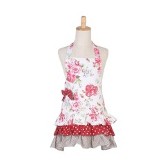 Kitchen Apron For Kids Work Table With Drawers Cotton Canvas Pockets Baking Cooking Children