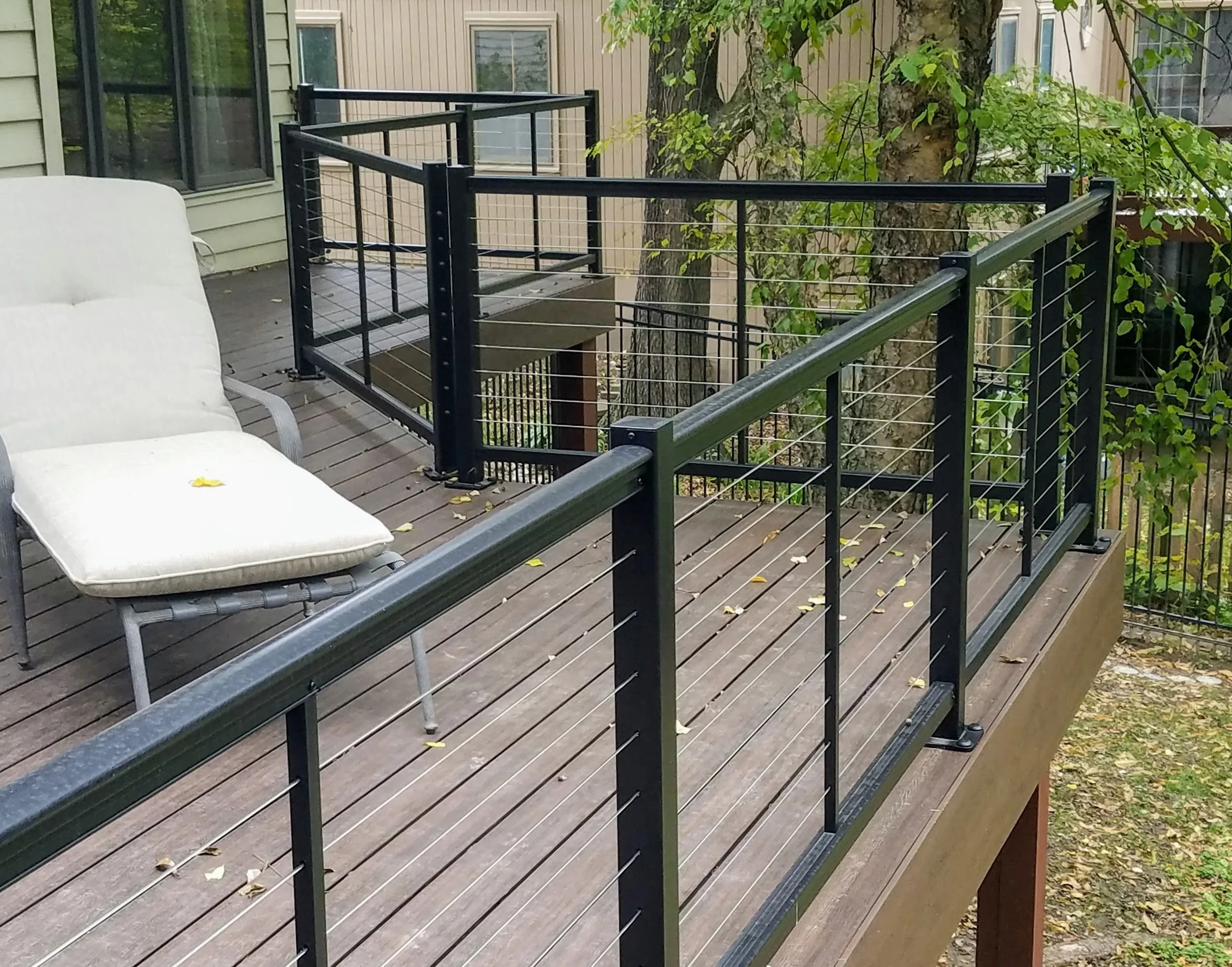 Cable Railing Systems Best Cable Rail Collections – Deck Rail   Metal Handrails For Decks   Patio   Decking   Fence   Pool Deck   Vertical Metal