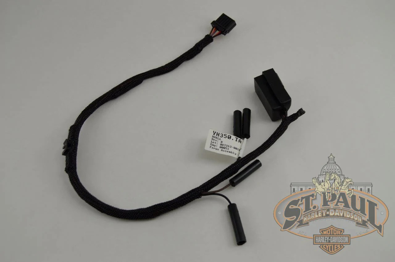 hight resolution of yh350 ta genuine buell tail section wire harness 2000 2010 blast p3 l18c electrical