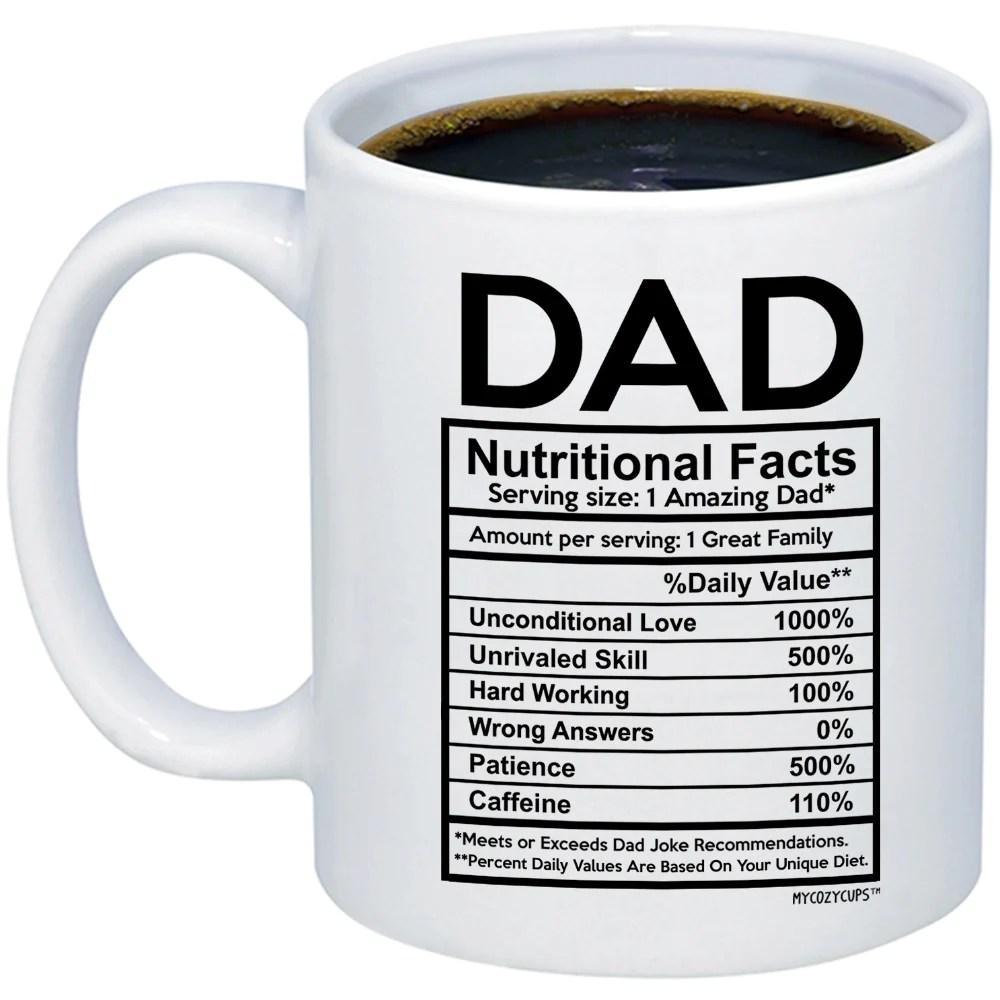 Funny Father S Day 11oz 15oz Coffee Mugs Dad Nutritional