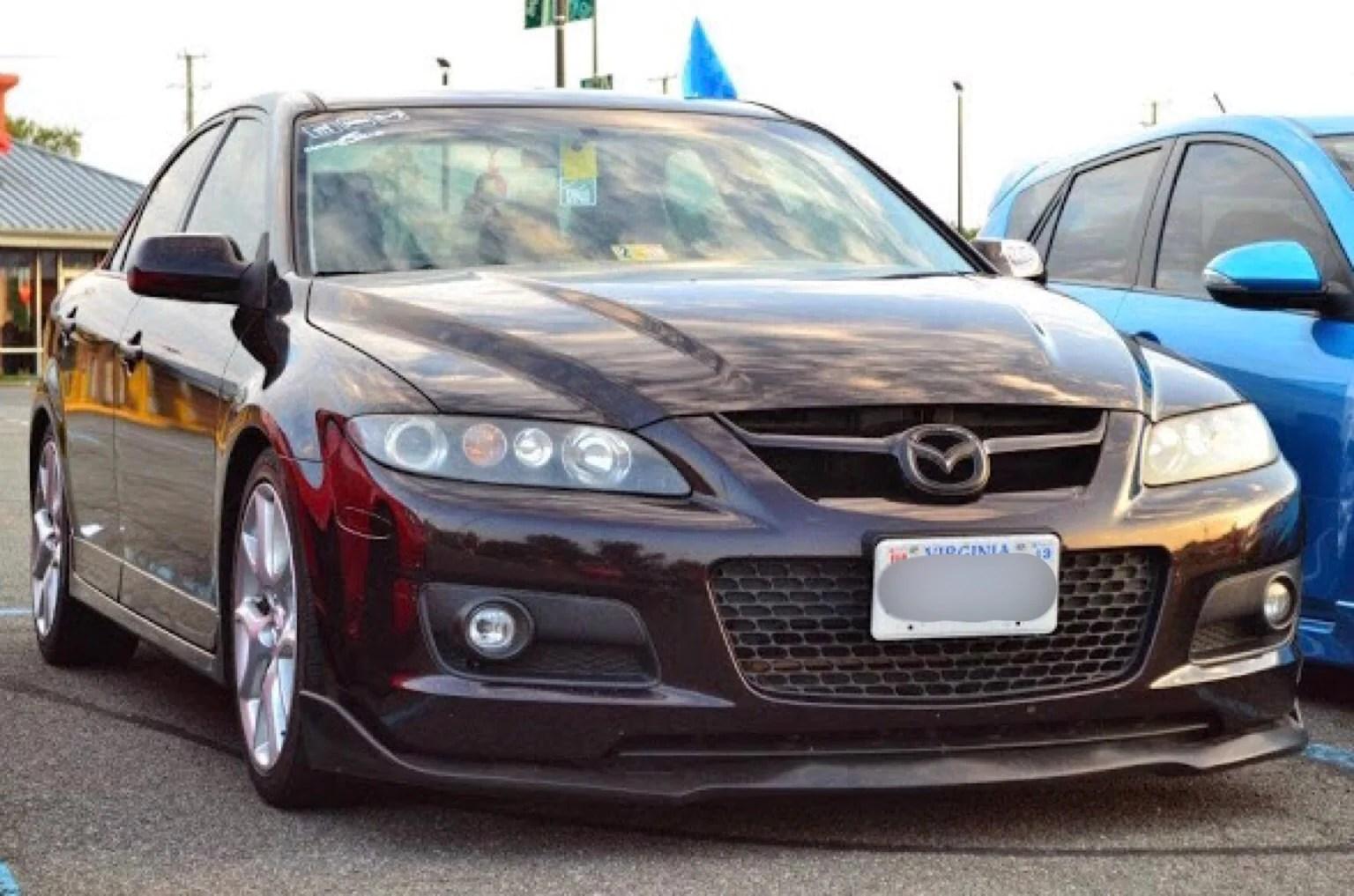 Mazda 6 Body Kits Mps Cs Front Lip Ausbody