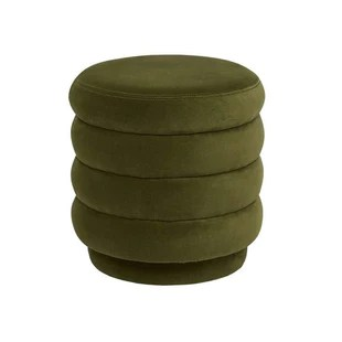 buy the kennedy ribbed round ottoman