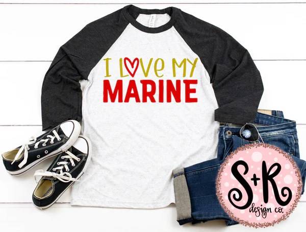 Download I Love My Marine SVG DXF PNG (2019) - Scout and Rose Design Co