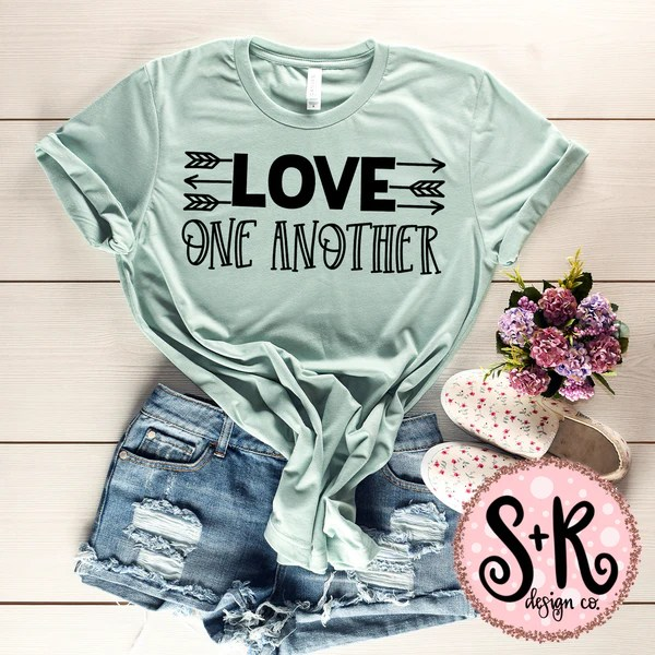 Download Love One Another SVG DXF PNG (2019) - Scout and Rose Design Co