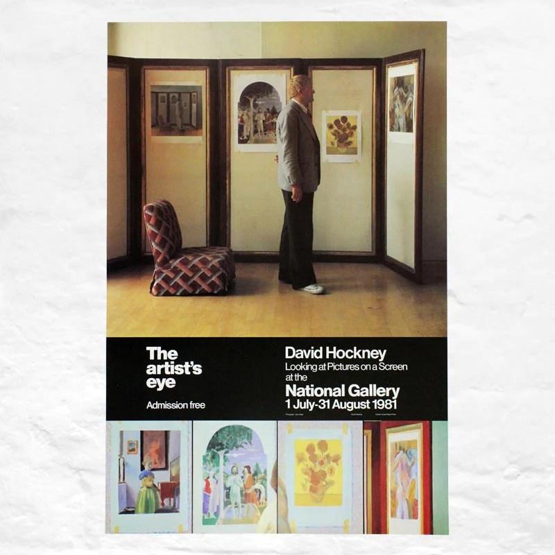 Screen Poster David Hockney