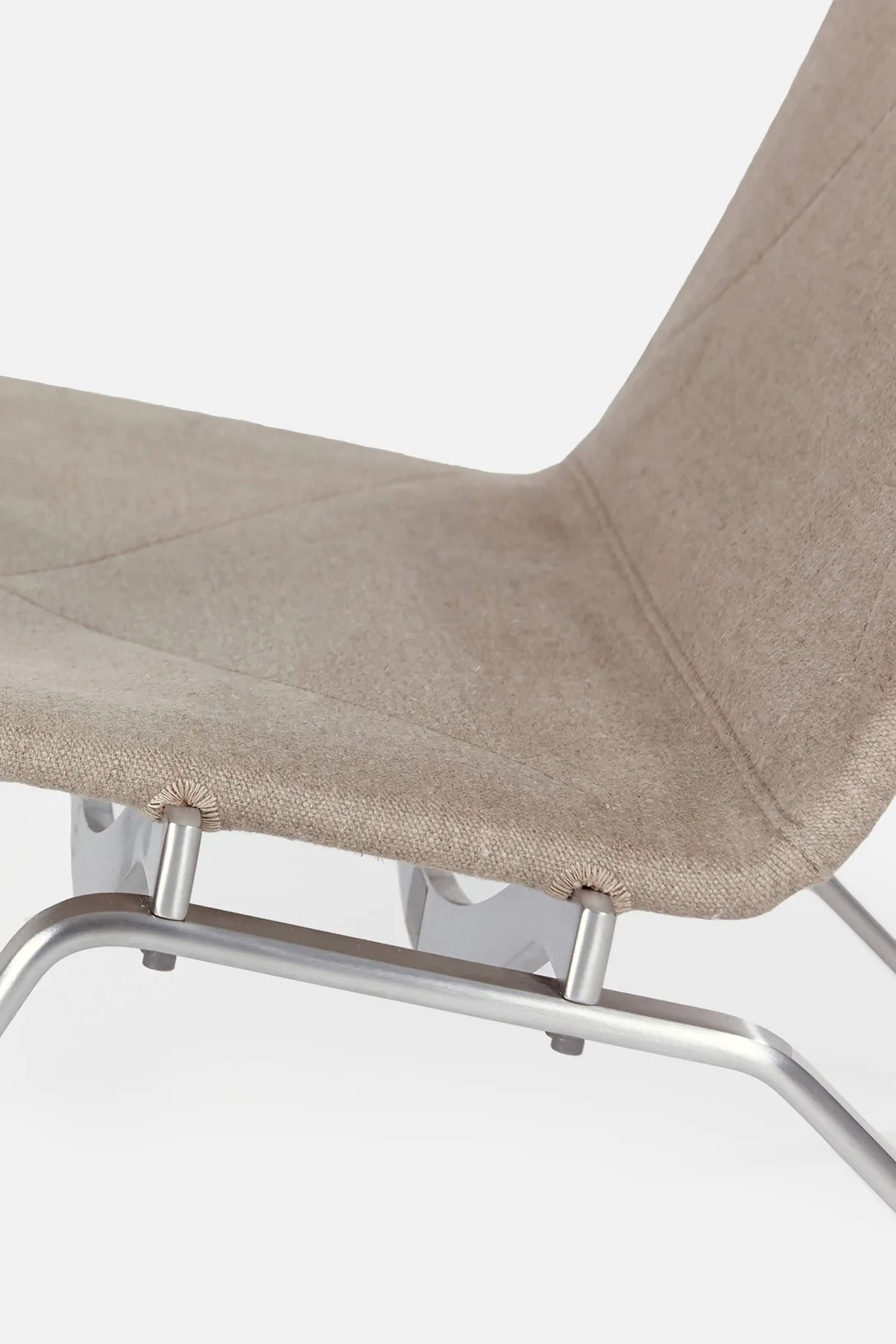 Pk22 Chair Pk22 Lounge Chair Natural Canvas The Line