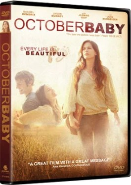 October Baby DVD Cover