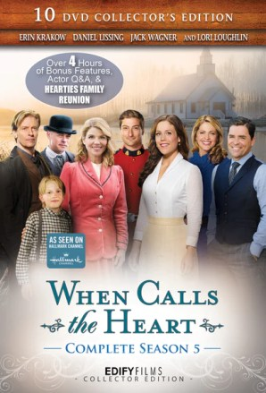 When Calls the Heart Season 5 Complete 10-DVD Set Collector's Edition - DVD Image