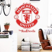 Large Manchester United Wall Decal  My Sport Shop