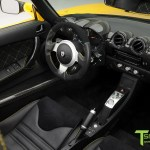 Brilliant Yellow Tesla Roadster Ferrari Black Interior Tagged Color Carbon Fiber T Sportline Tesla Model S 3 X Y Accessories