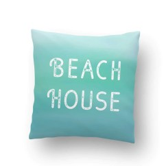 Beach Themed Sofa Pillows Clack Bed With Storage Uk House Indoor Throw Pillow Cover  Coastal Style