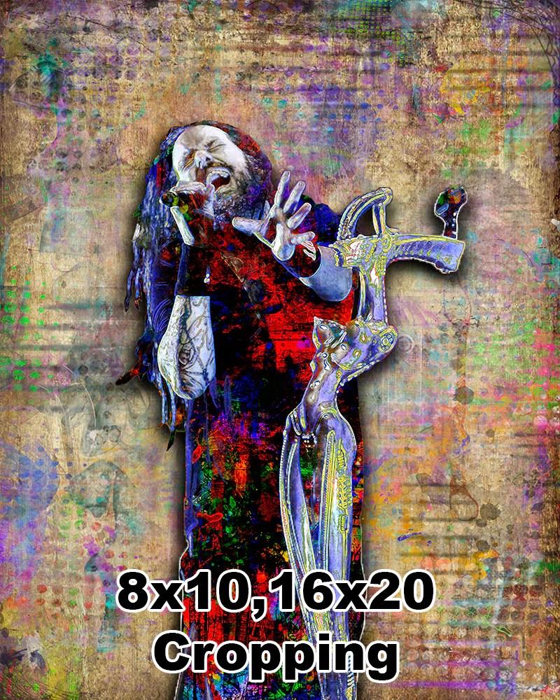 Jonathan Davis Of Korn Poster . Tribute