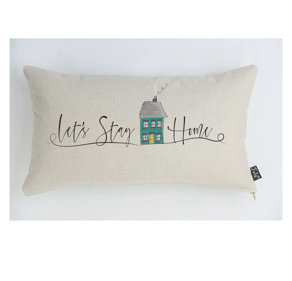 let s stay home cushion jola designs