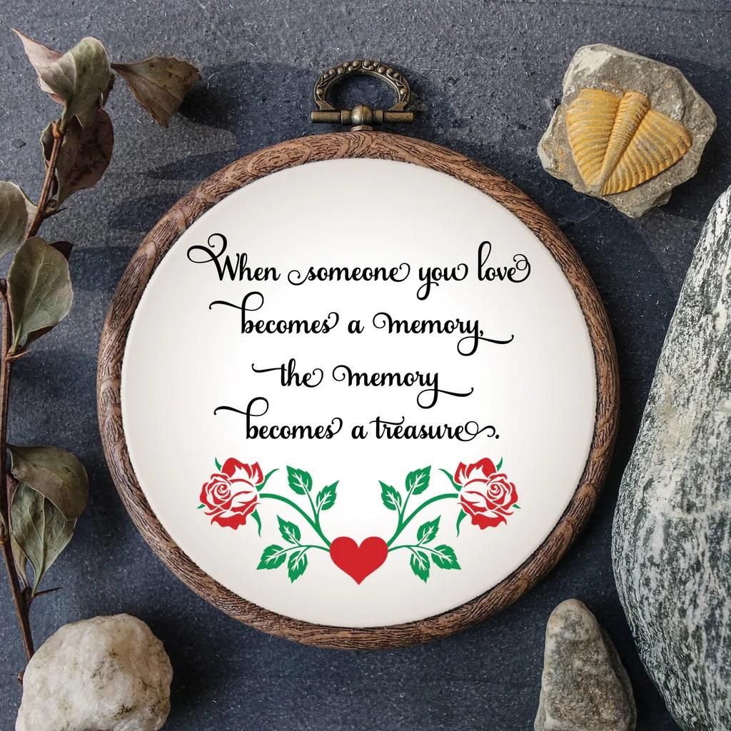 Download In Loving Memory Svg, Memory Quote, Cutting File, Memorial ...