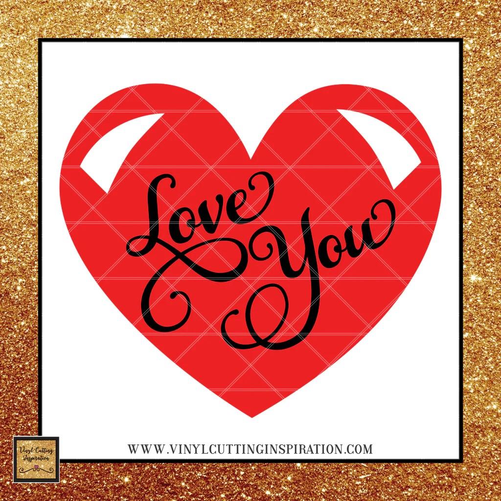 Download Love you SVG - Love SVG - Valentine SVG - Heart SVG ...