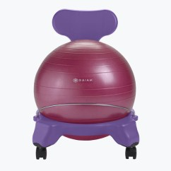 Ball Chair For Kids Rocking Pads Walmart Gaiam Classic Balance Exercise Yoga Stability