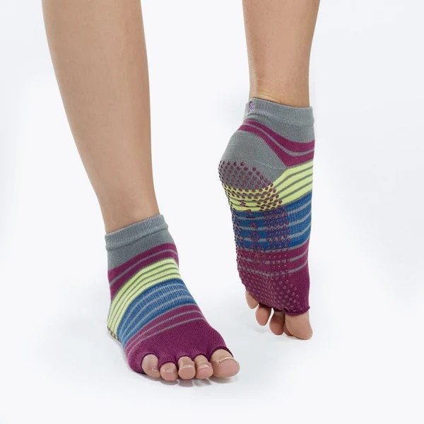 Toeless Yoga Socks  Gaiam