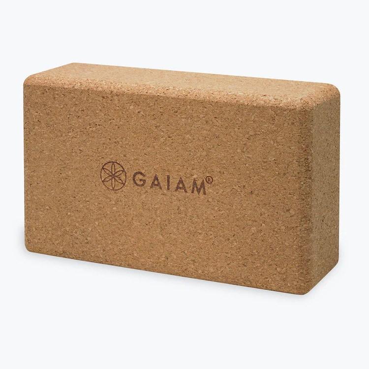 Gaiam Cork Block