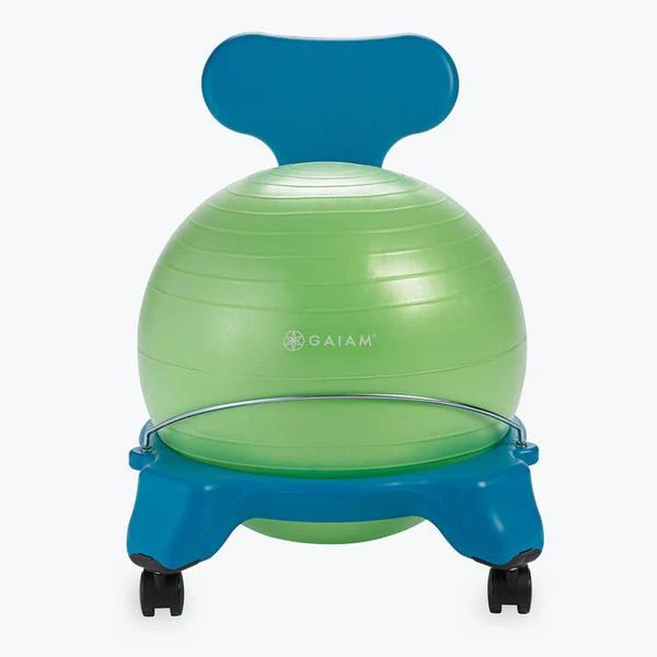 ball chair for kids double rocking adirondack plans classic balance gaiam