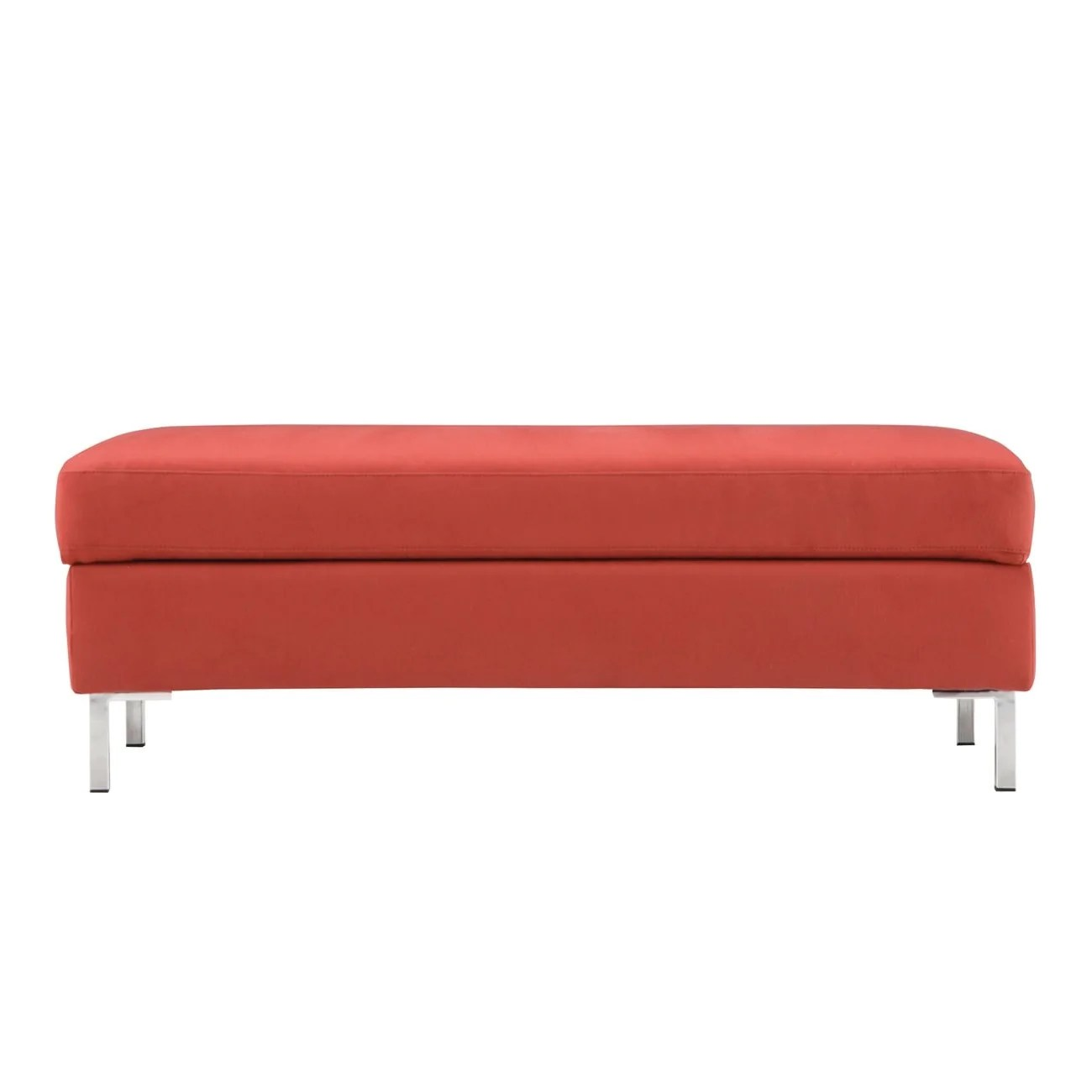 storage ottoman sound chair lowes patio chairs clearance ottomans benches plus modern design salema fabric