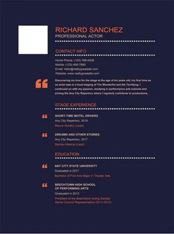 Free Creative Resume Templates - Download for MS Word – Gem Resume