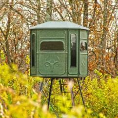 High Chair Deer Stand Preston Accessories Best Blind Millennium Tree Stands G100 Ground