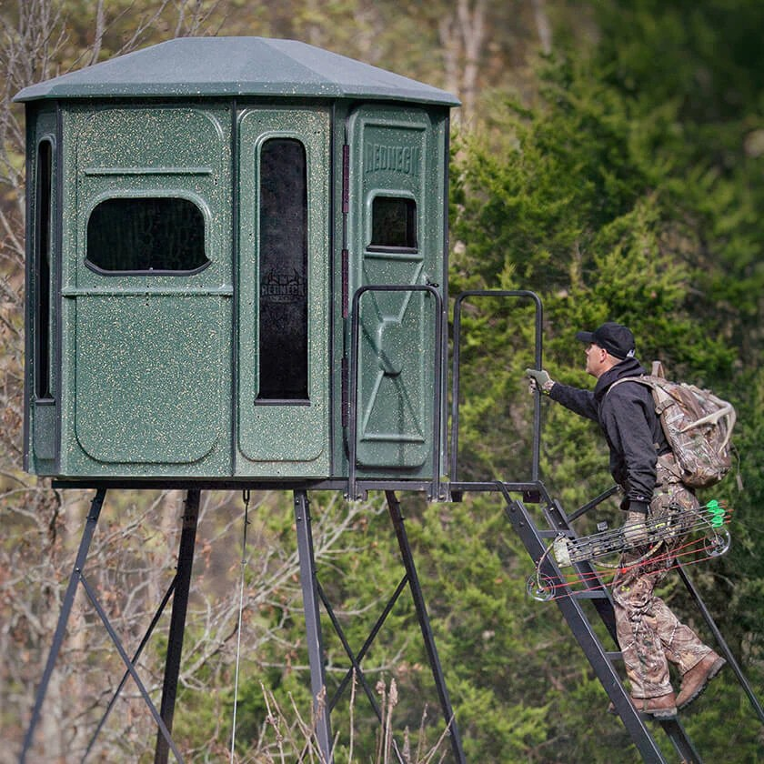 high chair deer stand bungee target pink hunting blinds box and for sale redneck blind stands