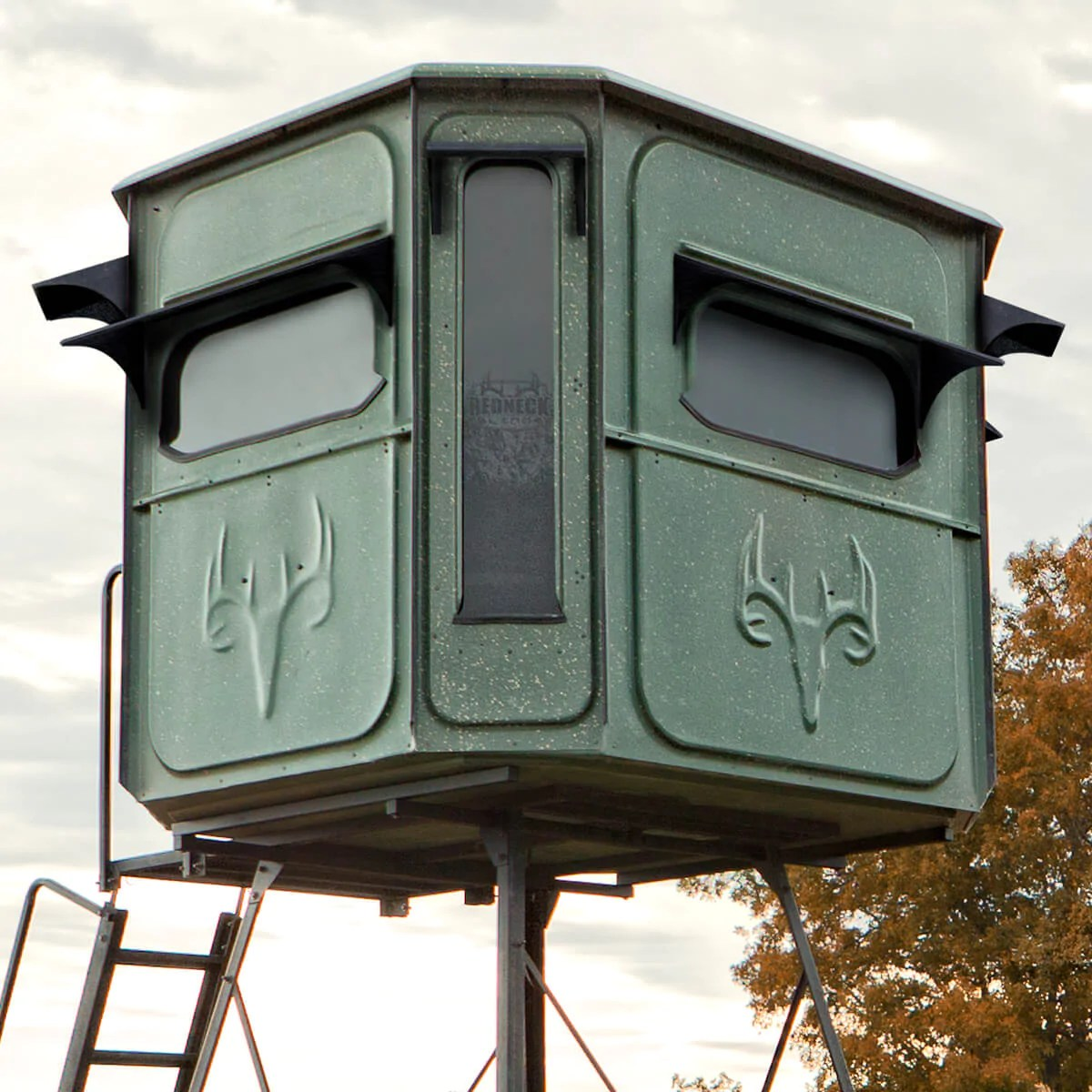 Hunting Blinds Box And Deer