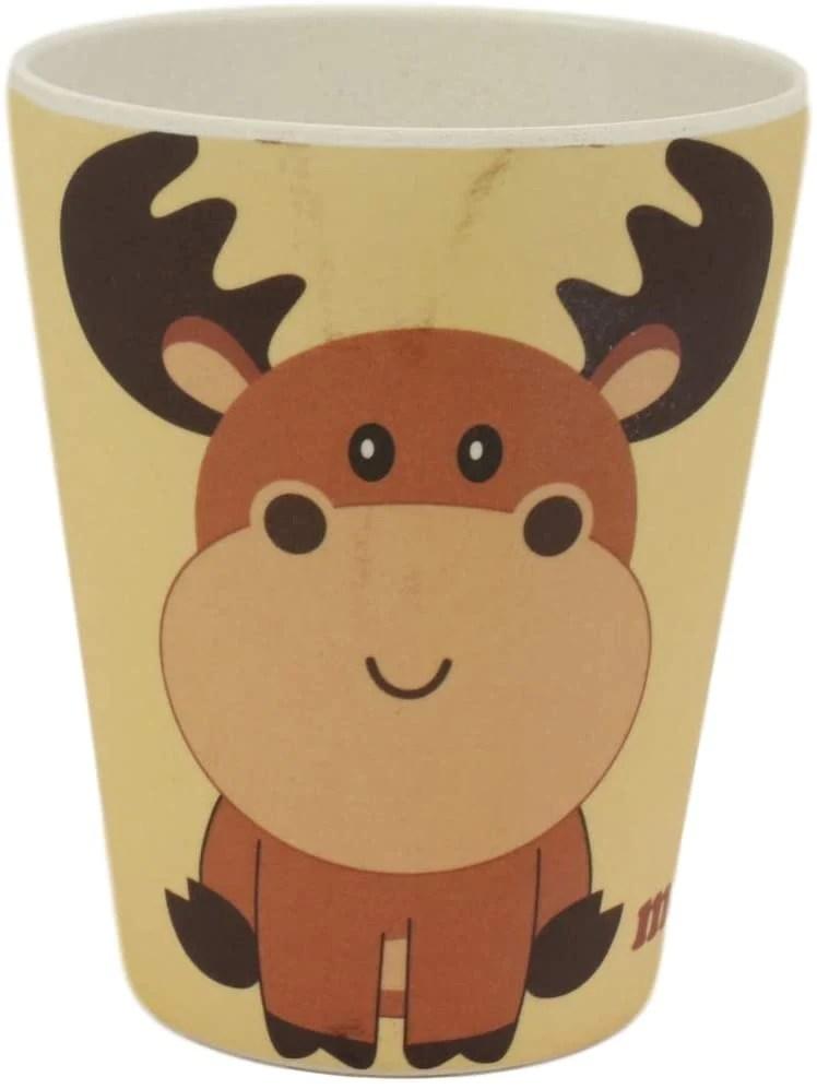 Moose Dinnerware Set : moose, dinnerware, Ebros, Moose, Piece, Organic, Bamboo, Dinnerware, Childr–