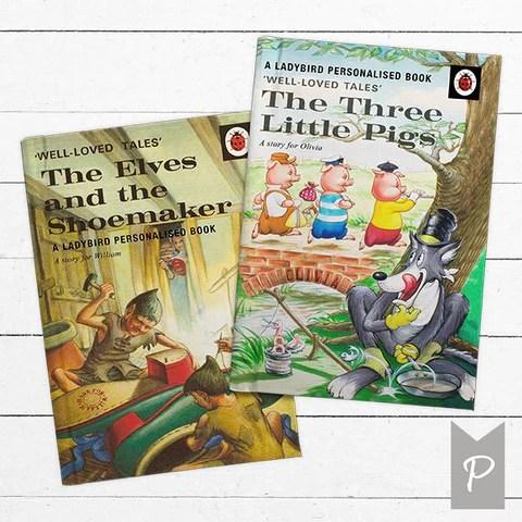 personalised ladybird story books