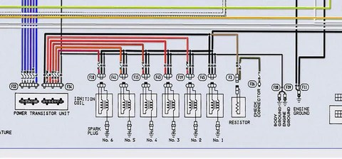 300zx coil pack wiring diagram prevailing wind gm ls2 d585 swap zshack d gets connected to 12v which is the larger thicker black wire that in middle between other two wires