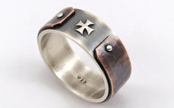men s wedding bands rings rustic